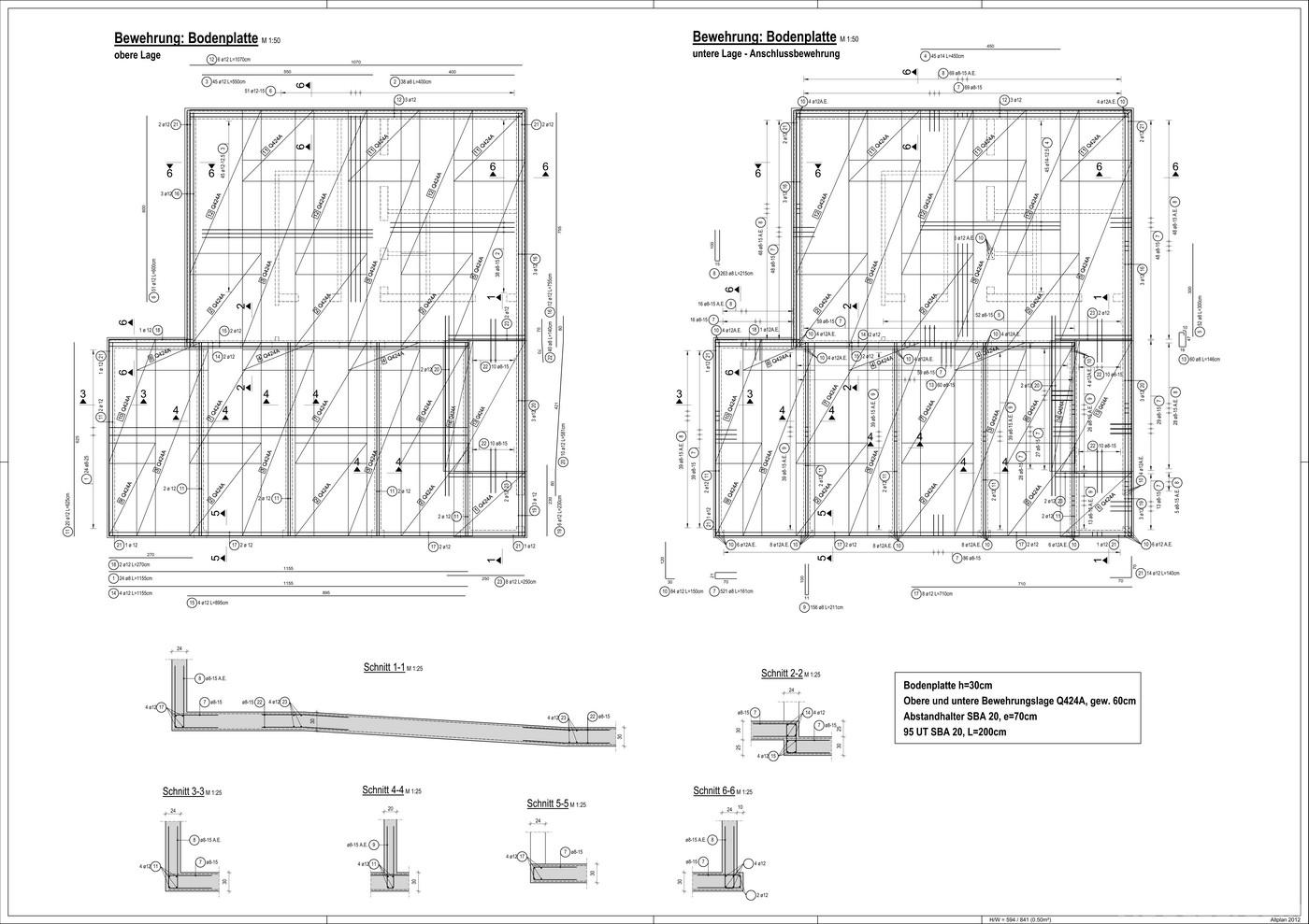 bewehrungsplan beispiel mischungsverh ltnis zement. Black Bedroom Furniture Sets. Home Design Ideas